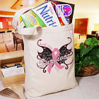 Butterfly Breast Cancer Survivor Tote Bag 843022