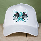 Ovarian Cancer Survivor Butterfly Hat 843056