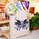 Pancreatic Cancer Survivor Butterfly Tote Bag