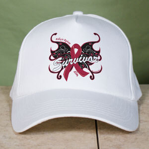 Multiple Myeloma Survivor Butterfly Hat