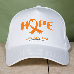 Walk For A Cure Leukemia Awareness Hat