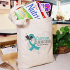 Ovarian Cancer Awareness Tote Bag 844402