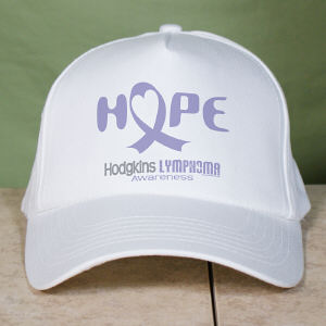 Hope Hodgkins Lymphoma Cancer Awareness Hat