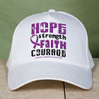 Crohn's Disease Hope Awareness Hat