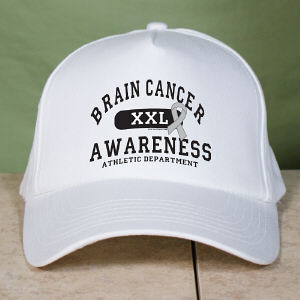 Brain Cancer Awareness Hat