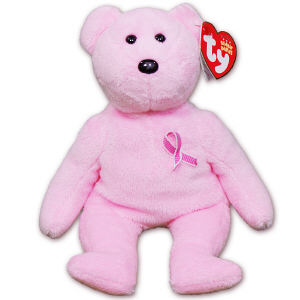 Breast Cancer Awareness Teddy Bear