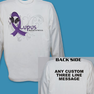 Lupus Awareness Long Sleeve Shirt