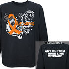 Leukemia Awareness Ribbon Long Sleeve Shirt