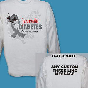 Juvenile Diabetes Awareness Long Sleeve Shirt