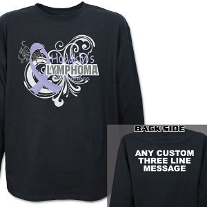 Hodgkin's Lymphoma Awareness Long Sleeve Shirt