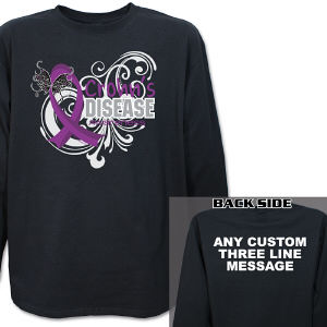 Crohn's Disease Awareness Long Sleeve Shirt