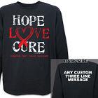 CHD Hope Awareness Long Sleeve Shirt 9075525X