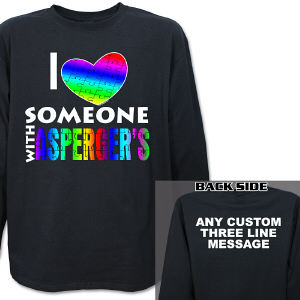 Love Someone With Asperger's Long Sleeve Shirt