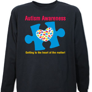 Autism Awareness Long Sleeve Shirt