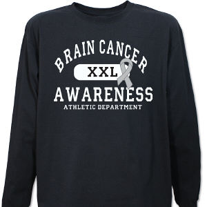 Brain Cancer Awareness Long Sleeve Shirt