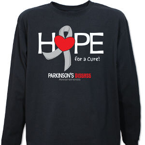 Parkinson's Hope for a Cure Long Sleeve Shirt