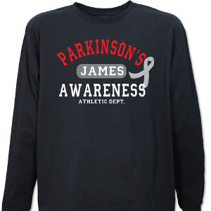 Parkinson's Awareness Athletic Dept. Long Sleeve Shirt
