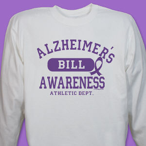 Alzheimer's Awareness Long Sleeve Shirt