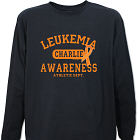 Leukemia Awareness Athletic Dept. Long Sleeve Shirt 9076016X