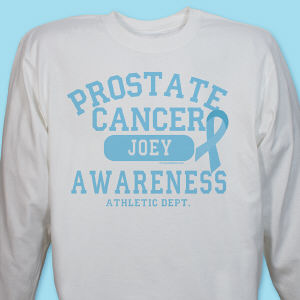 Prostate Cancer Athletic Dept. Long Sleeve Shirt