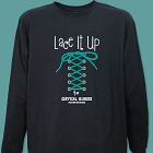 Lace It Up Cervical Cancer Walk Long Sleeve Shirt