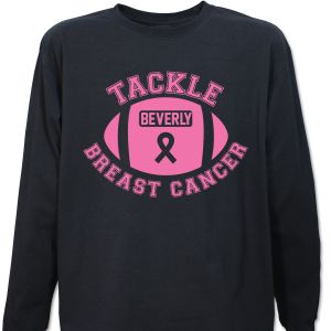 Tackle Breast Cancer Long Sleeve Shirt