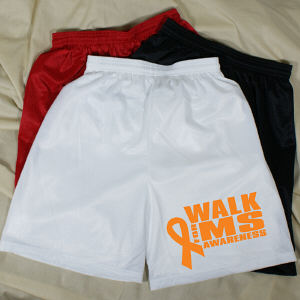 Walk for Multiple Sclerosis Awareness Men's Mesh Shorts