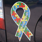 Autism Awareness Ribbon Magnet AM000RB