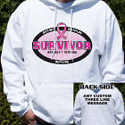 Breast Cancer Survivor Hooded Sweatshirt H54223X