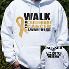 Walk for Childhood Cancer Awareness Hooded Sweatshirt H54243X