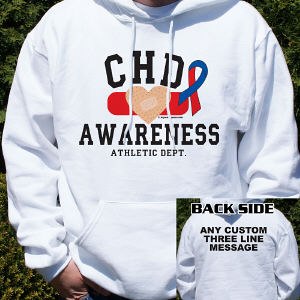 CHD Awareness Athletic Dept. Hooded Sweatshirt