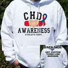 CHD Awareness Athletic Dept. Hooded Sweatshirt H55524X