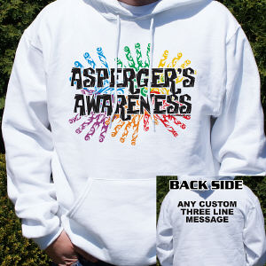 Asperger's Awareness Hooded Sweatshirt