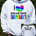 Love Someone With Asperger's Hooded Sweatshirt H55530X
