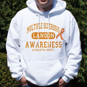 Multiple Sclerosis Awareness Hooded Sweatshirt