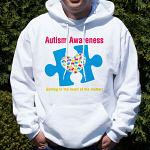 Autism Awareness Hooded Sweatshirt H55637X