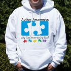 Autism Awareness Hooded Sweatshirt H55638X