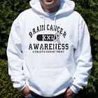 Brain Cancer Awareness Hooded Sweatshirt H55672X