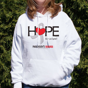 Parkinson's Hope for a Cure Hooded Sweatshirt