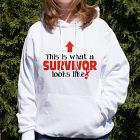 Cancer Survivor Long Sleeve T-Shirt 9075876X