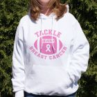 Tackle Breast Cancer Hooded Sweatshirt H57085X