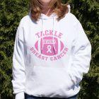 Tackle Breast Cancer Hooded Sweatshirt H57085X