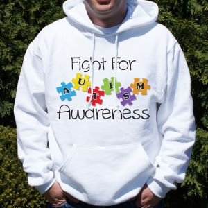 Fight for Autism Awareness Hooded Sweatshirt