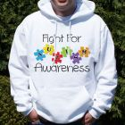 Fight for Autism Awareness Hooded Sweatshirt H57455X
