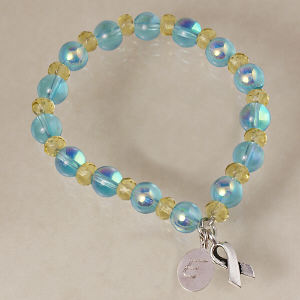 Engraved Down Syndrome Awareness Bracelet