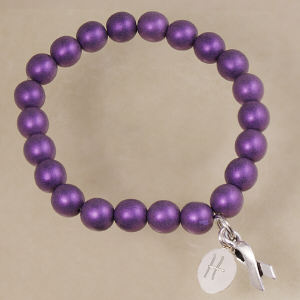 Epilepsy Hope Ribbon Awareness Bracelet