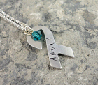 Awareness Ribbon Pendant DKRIBAL