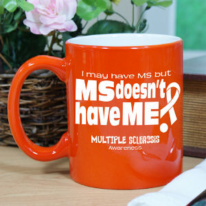 MS Awareness Two-Tone Mug