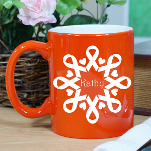 Orange Ribbon Awareness Mug