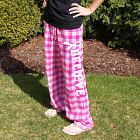 Believe Cancer Awareness Ladies Flannel Pants LP4231PK